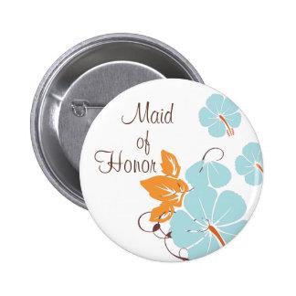 Criada del botón del honor pin