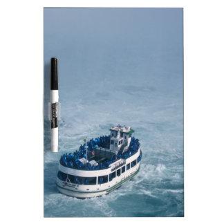 Criada del cierre de la niebla encima de Niagara F Pizarras Blancas
