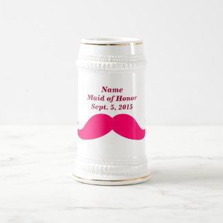 Criada del honor 18 onza Stein Jarra De Cerveza