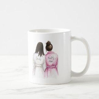 ¿Criada del honor? Criada larga del Br de DK de la Taza De Café