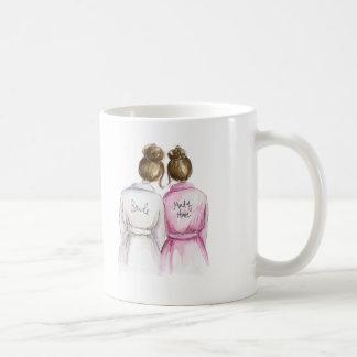 ¿Criada del honor? Criada triguena del Brunette de Taza De Café