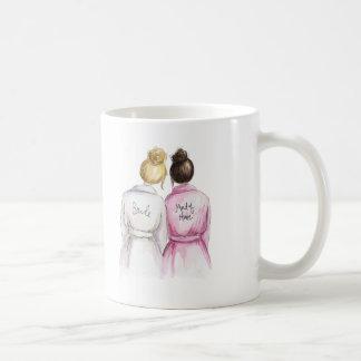 ¿Criada del honor? Criada triguena oscura de la Taza De Café