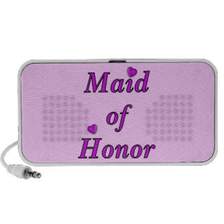 Criada del honor del amor simplemente portátil altavoz
