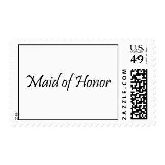 Criada del honor envio