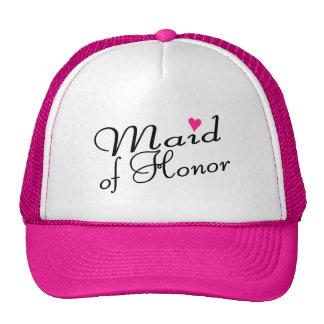 Criada del honor gorras de camionero