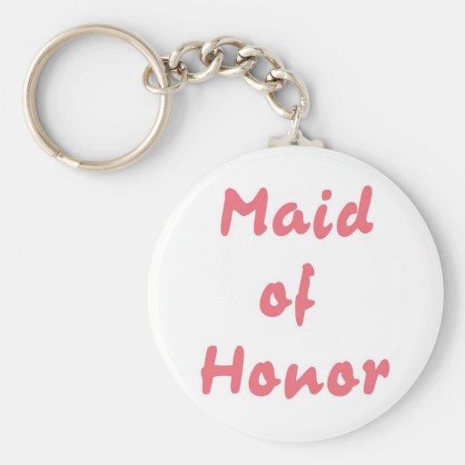 Criada del honor llavero