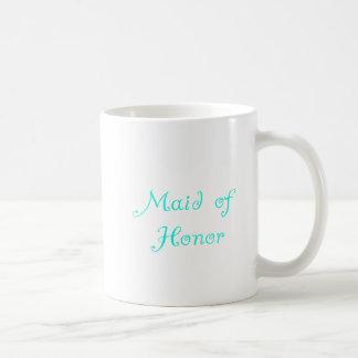 Criada del honor tazas de café