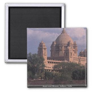 Criada del hotel, Bhawan, Jodhpur, la India Imán Cuadrado