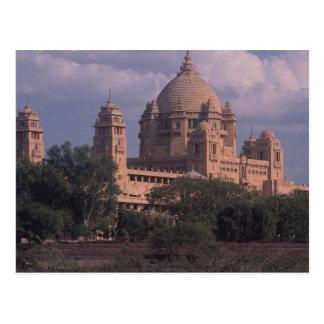 Criada del hotel, Bhawan, Jodhpur, la India Tarjetas Postales