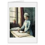 Criada del lavadero, c.1880 tarjeta
