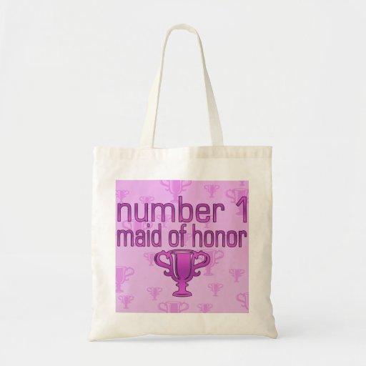 Criada del número 1 del honor bolsa tela barata