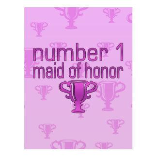 Criada del número 1 del honor postal