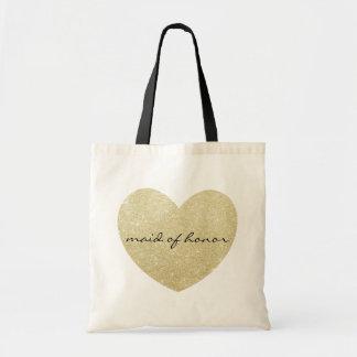 Criada del personalizar de oro del corazón del