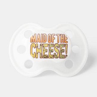 Criada del queso verde chupetes