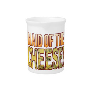 Criada del queso verde jarron