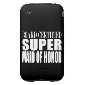 Criada estupenda de las gracias de los símbolos de tough iPhone 3 carcasa