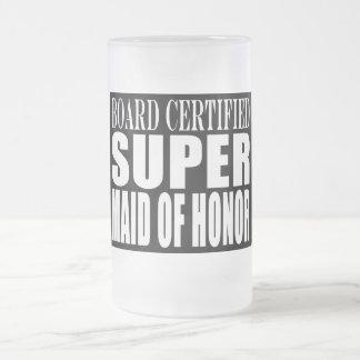Criada estupenda de las gracias de los símbolos de taza cristal mate