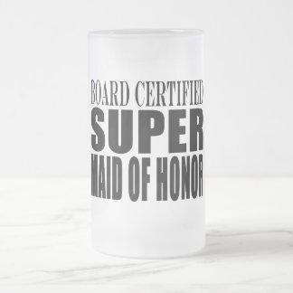 Criada estupenda de las gracias de los símbolos de taza de cristal