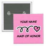 Criada personalizada del botón del honor con el co