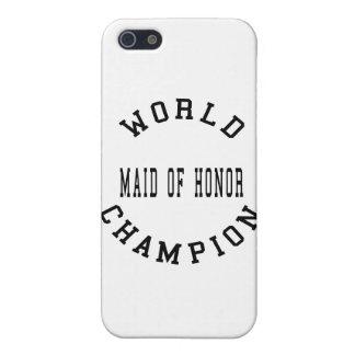 Criada retra fresca del campeón del mundo del hono iPhone 5 cobertura
