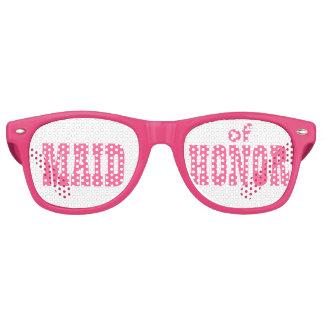 Criada rosada de los vidrios del fiesta del Swag Gafas De Sol