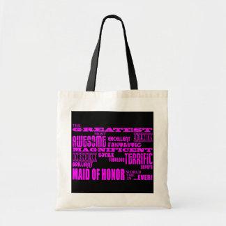 Criadas de los regalos de la diversión del honor:  bolsas lienzo