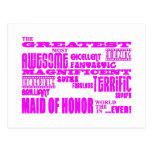 Criadas de los regalos de la diversión del honor:  tarjeta postal