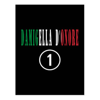 Criadas del honor italianas: Damigella D'Onore Postal
