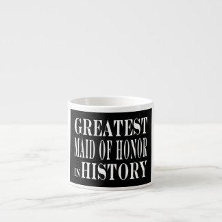 Criadas del honor: La criada del honor más grande  Taza Espresso