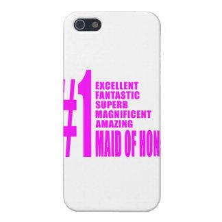 Criadas del honor rosadas: Criada del número uno d iPhone 5 Funda