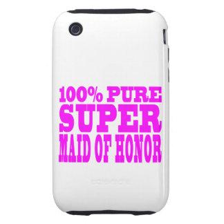 Criadas del honor rosadas frescas: Criada del hono iPhone 3 Tough Protector