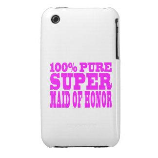 Criadas del honor rosadas frescas: Criada del hono iPhone 3 Carcasas