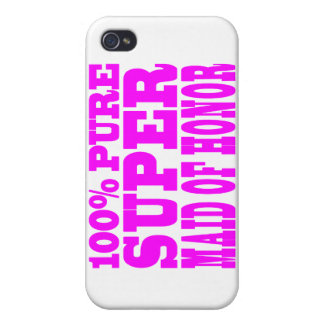 Criadas del honor rosadas frescas: Criada del hono iPhone 4 Coberturas