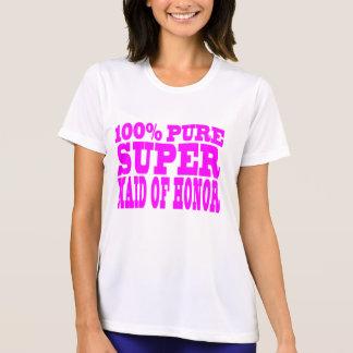 Criadas del honor rosadas frescas: Criada del hono Camiseta