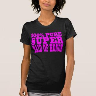 Criadas del honor rosadas frescas: Criada del Camiseta
