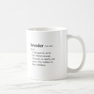 CRIADOR (definición) Taza Básica Blanca