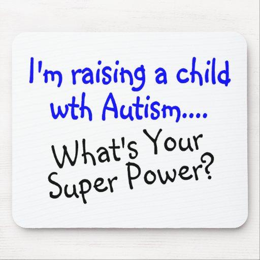 Criando a un niño con autismo cuál es su superpode tapetes de ratones