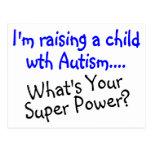 Criando a un niño con autismo cuál es su superpode postal