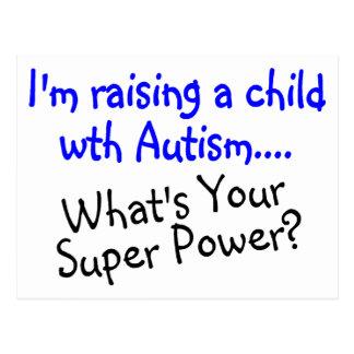 Criando a un niño con autismo cuál es su postal