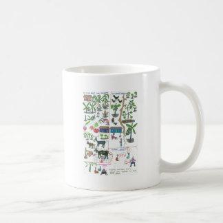 Criar cosechas y animales para aumentar nuestra re tazas de café