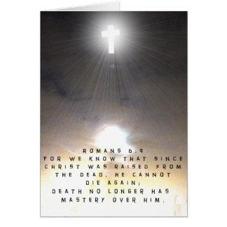Criaron a Cristo de los muertos Felicitaciones
