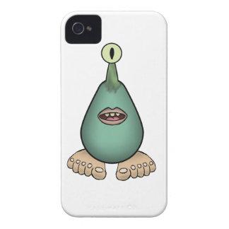Criatura blanda y húmeda de Footy Gluubop iPhone 4 Case-Mate Coberturas