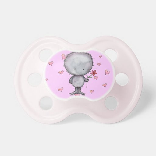 Criatura borrosa linda Binky Chupetes Para Bebes