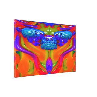 Criatura de la lava impresiones de lienzo