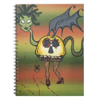 Criatura de la noche cuaderno