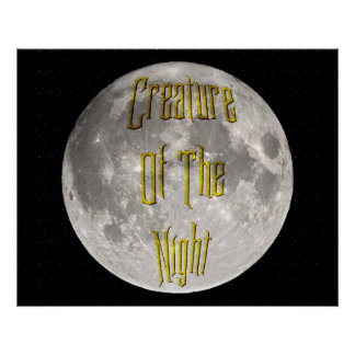 Criatura de la noche posters