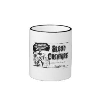 Criatura de la sangre taza de dos colores