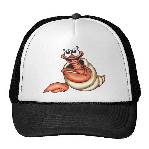 Criatura del mar del Seashell Gorras De Camionero