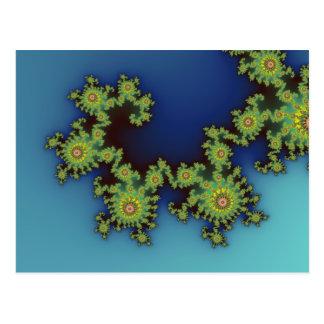 Criatura del mar   - postal del fractal