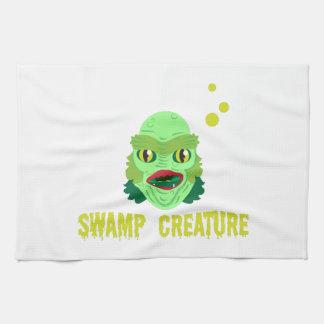 Criatura del pantano toalla